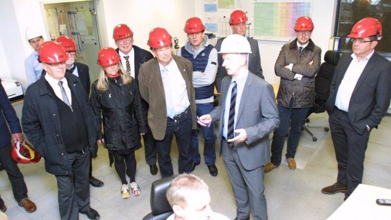 MIT Landesvorstand informiert sich bei EEW über Thermische Abfallentsorgung in Hannover