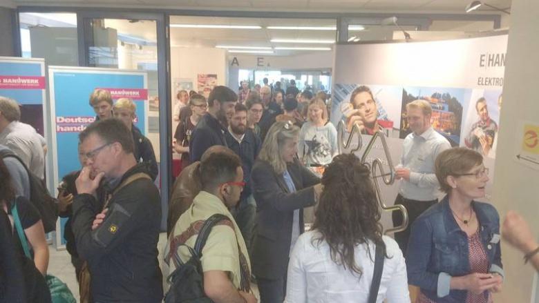 """MIT begrüßt großen Zuspruch der Berufsorientierungsmesse """"Ausbildung 49"""""""