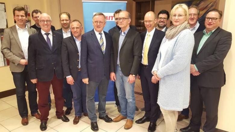 MIT KV Osnabrück-Land – Dietrich Keck eindrucksvoll im Amt bestätigt