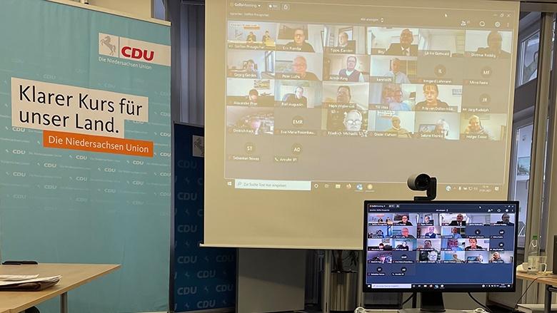 Der Landesvorstand der MIT-Niedersachsen startet mit einer Videokonferenz ins neue Jahr