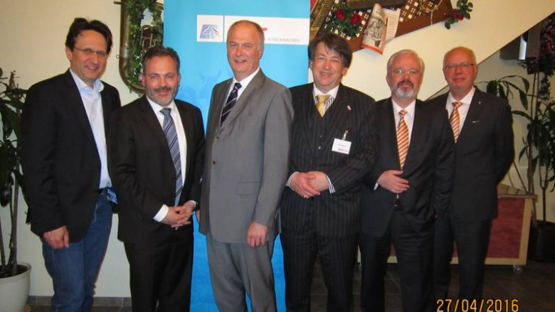(v.l.n.r.): Loskant, Zschoch, Dr. Lohmann, Novak, Schulz, Bodmann