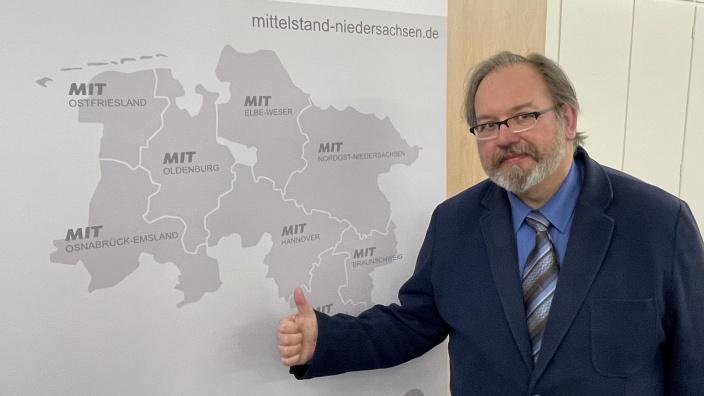 Dietmar Reddig bleibt Vorsitzender des MIT-Bezirksverbandes Hannover