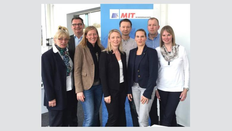 (v.l.n.r.): Karin Schmaida, Armin Ring, Susanne Gundlach, Cindy Lutz, Kai Kronschnabel, Svenja Hohnstock, Sebastian Gabbey und Ann-Kathrin Gabbey.
